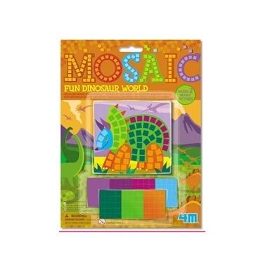 4M 4M Dinazor Mozaik Renkli